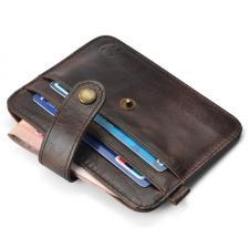 Оригинальный мини-бумажник, из кожи для кредиток/визиток и бумажных купюр, Вы всегда можете купить в интернет-магазине SOIN-STORE.ru