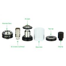 Authentic Eleaf iJust S 3000mAh E-Cigarette Starter Kit (Black) in SOIN-STORE