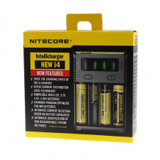 Nitecore NEW i4 Intellicharger 4-Slot Battery Charger (EU) in SOIN-STORE