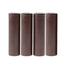 LG 18650HG2 3.6V 3000mAh Rechargeable Li-ion Batteries (4-Pack) in SOIN-STORE