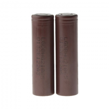 LG 18650HG2 3.6V 3000mAh Rechargeable Li-ion Batteries (2-Pack) in SOIN-STORE