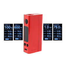 Joyetech eVic VTwo Mini 75W TC VW APV Box Mod (red) in SOIN-STORE