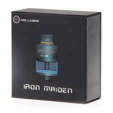 Атомайзер Hellvape Iron Maiden RDTA (black) купить в SOIN-STORE.ru
