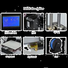 3D Принтер Anet A6 LCD12864 Acrylic Frame DIY Kit купить в https://soin-store.ru