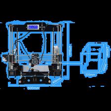 3D-Принтер Tronxy 3DCSTAR P802-MHS Acrylic Kit купить в https://soin-store.ru